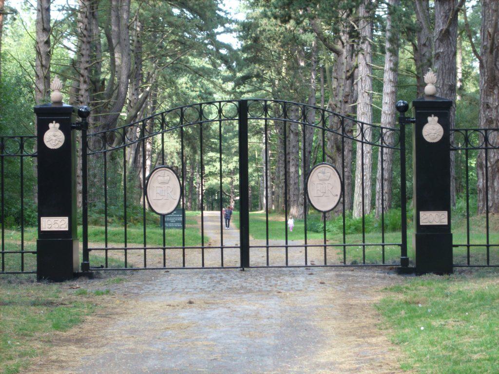 Sandringham Estate Royal Gates
