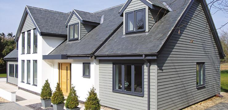 New barn paint inspired by coastal cladding witham blog for New build barn style house