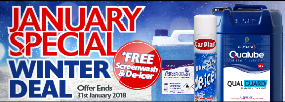 Witham Antifreeze Coolant offer