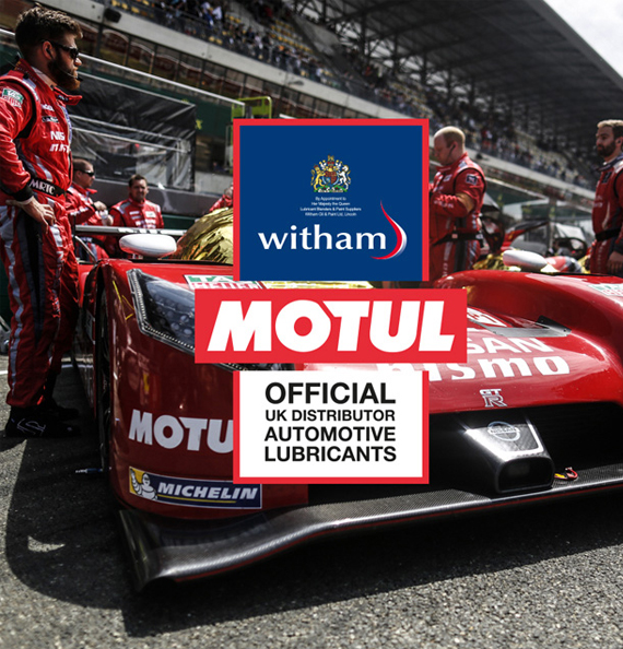 Witham is the UK distributor of Motul oil