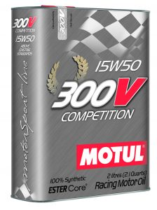 Motul 300V racing oil