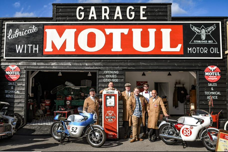Motul Garage at Goodwood Revival