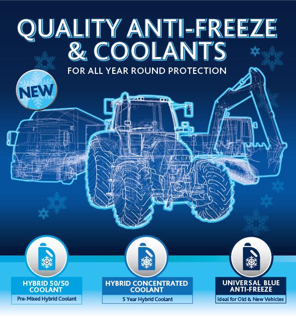 Quality Antifreeze & Coolants