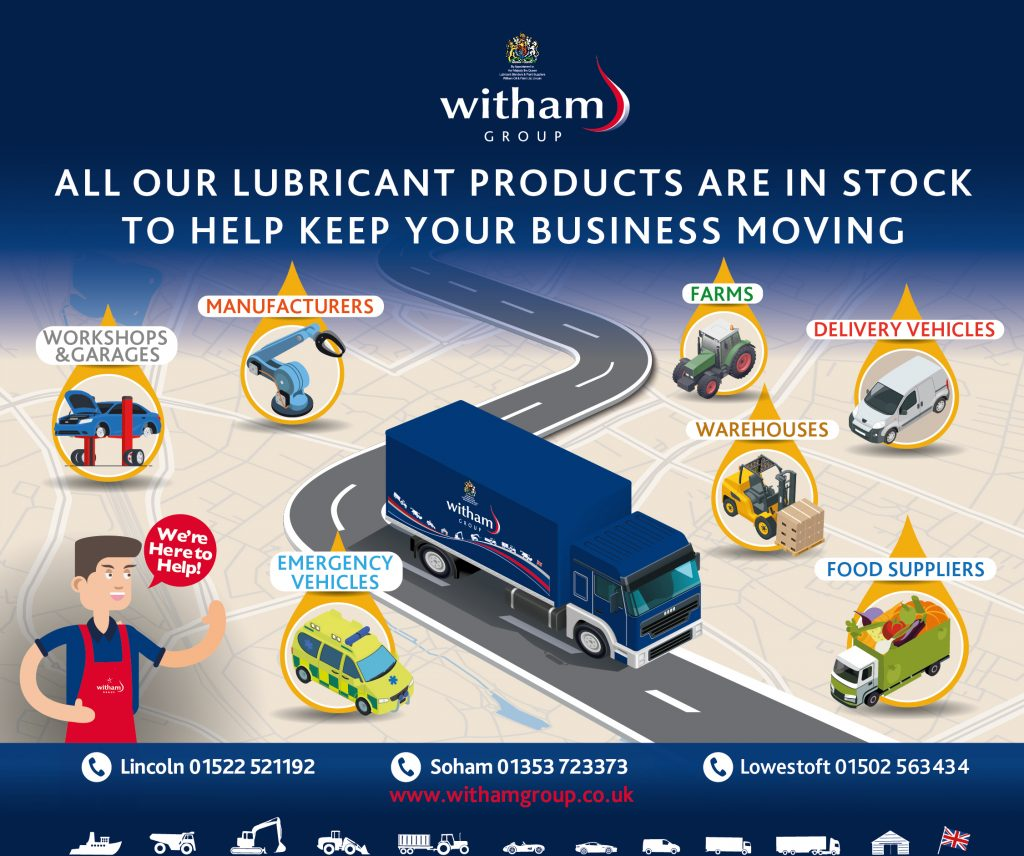 Witham supporting UK industry