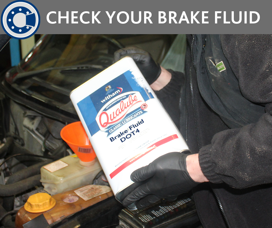 Check your brake fluid