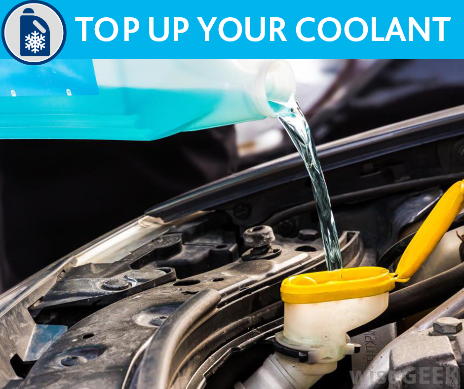Top up your coolant