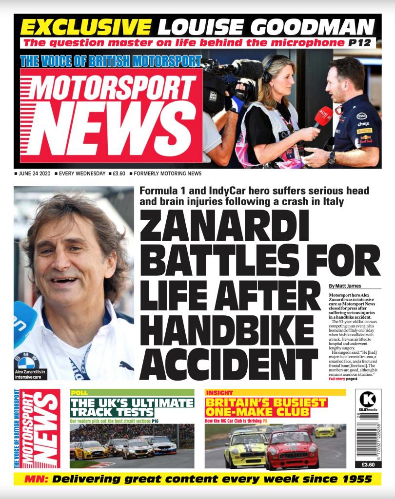 Motorsport News July